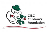 Logo of snowman hugging a child
