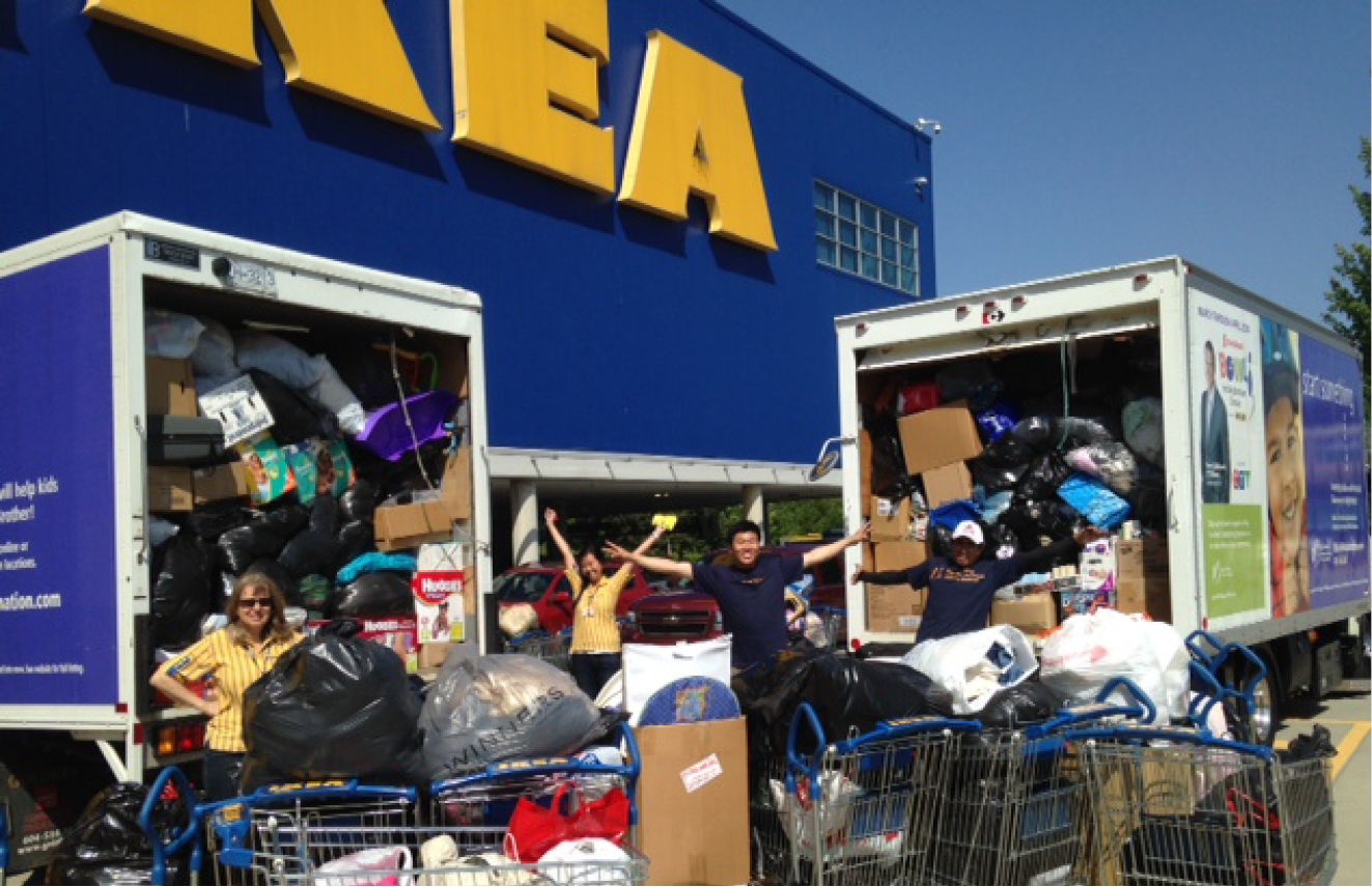 IKEA Spring Clean Up Event