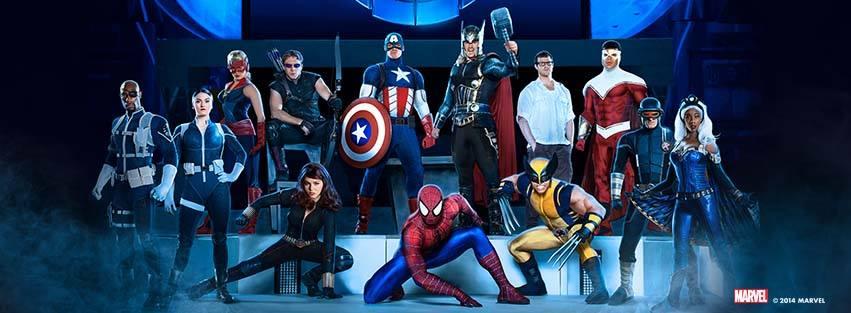 Marvel Universe LIVE! 's Exclusive Big & Little Obstacle Course