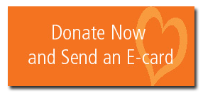 Button that reads donate now and send an e-card