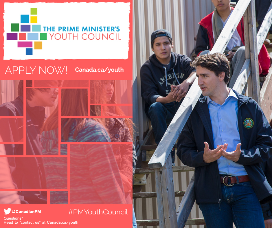 Apply Now: Prime Minister's Youth Council