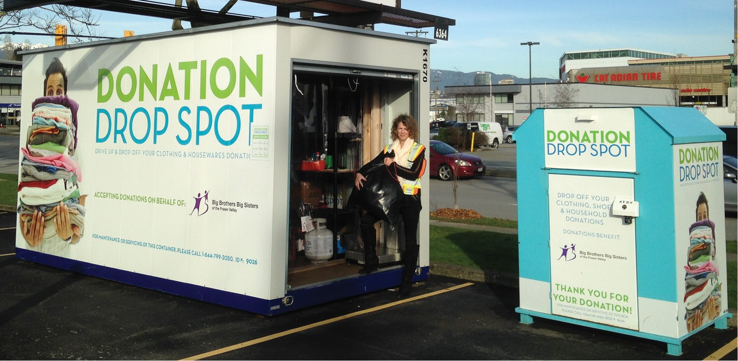 Back to School Cleaning Made Easier with Attended Clothing Donation Stations