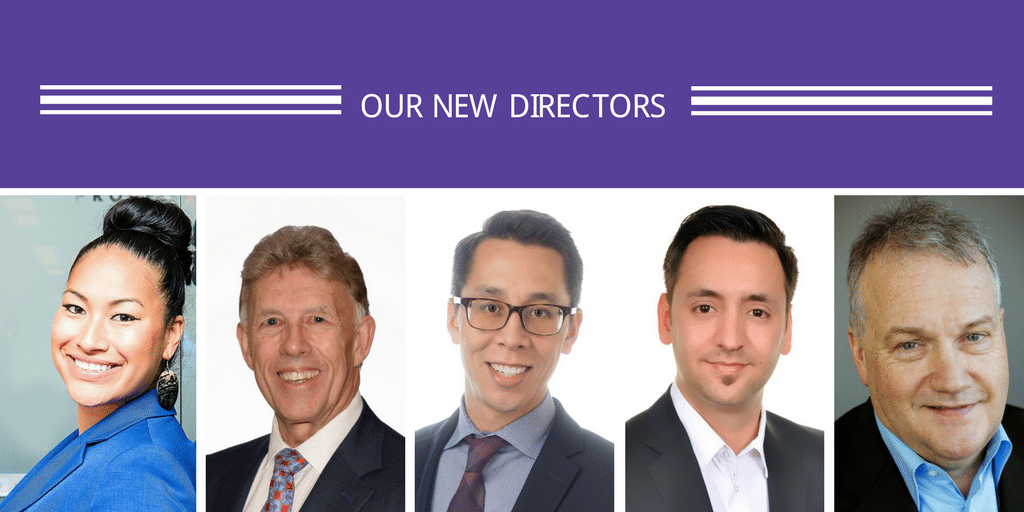Introducing Our New Directors