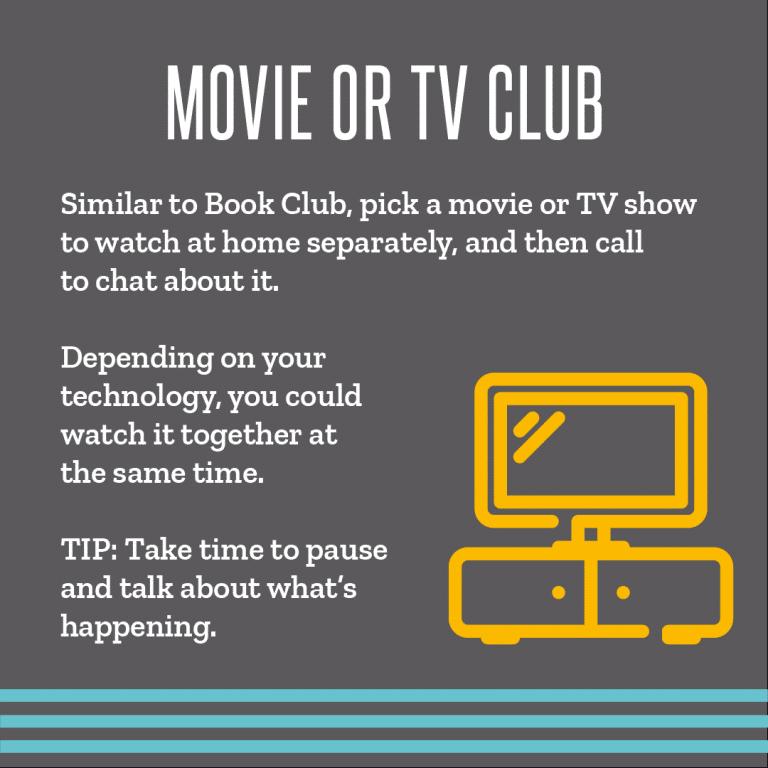 4 Movie Or TV Club
